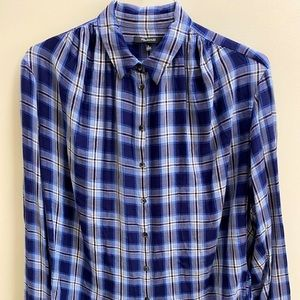 Madewell Plaid Button Up